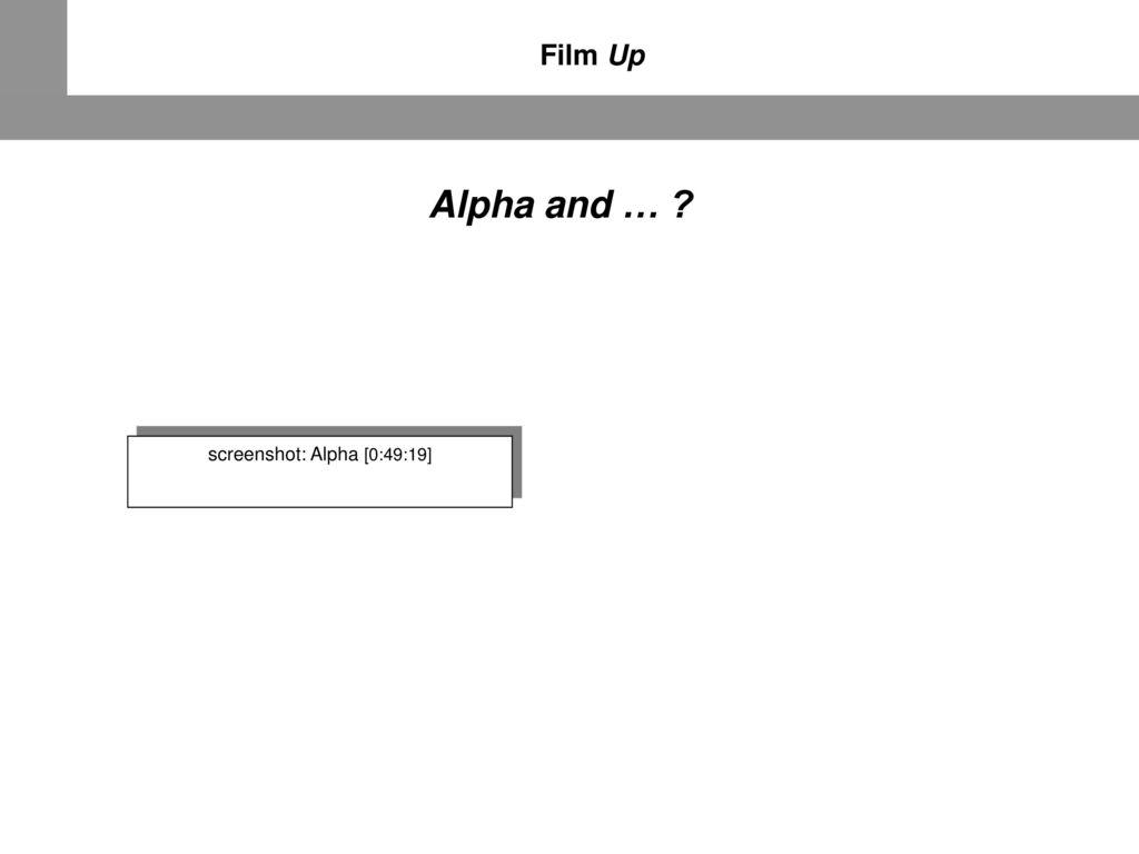 screenshot: Alpha [0:49:19]
